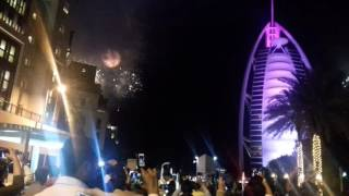 Burj al arab dubai happy new year 2017 Rajubc.com