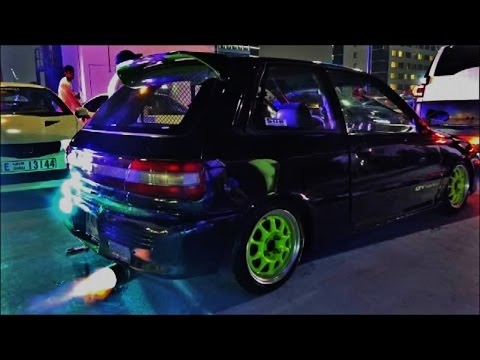 Modified Toyota Starlet Gt Turbo Loud Pops Amp Bangs Youtube