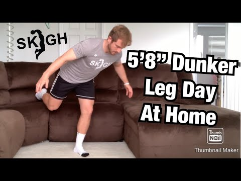 5'8 Dunker Workout Jump Higher At Home