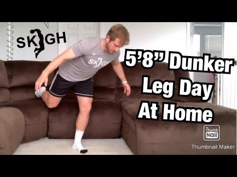 5'8 Dunker Workout Jump Higher At Home