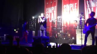 Simple Plan - This Song Saved My Life (Acoustic) - Live at the E-Werk, Cologne, Germany 2016