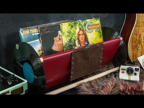 How To - Paige Hemmis' DIY Vinyl Rack - Hallmark Channel