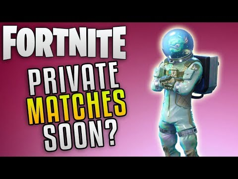 Fortnite Battle Royale Private Matches