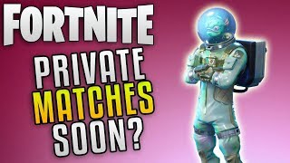 "Fortnite Battle Royale Private Matches ""Fortnite Battle Royale Update 3.6"" Fortnite New Challenges"
