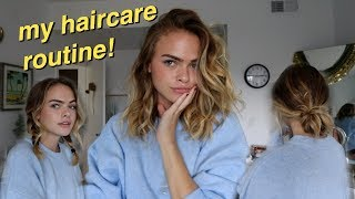 My Haircare Routine, How I Get Natural, Bouncy Curls + Hairstyles! | Summer Mckeen