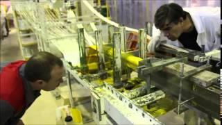 Завод FloTenk: пултрузионная установка (изготовление профиля методом  пултрузии)(Завод FloTenk (http://flotenk-profile.ru/) производит профиль из стеклопластика (уголок, швеллер, двутавр и т.д.) и изделия..., 2015-02-05T11:59:05.000Z)