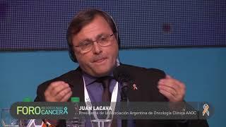 Entrevista a Juan Lacava, Presidente de la Asociación Argentina de Oncología Clínica AAOC