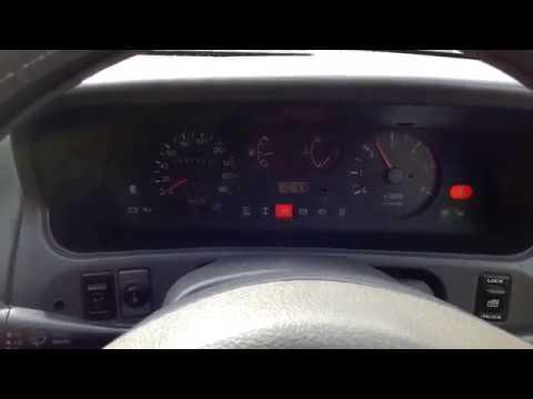 Nissan mistral запуск мотора после ночи простоя и в 5