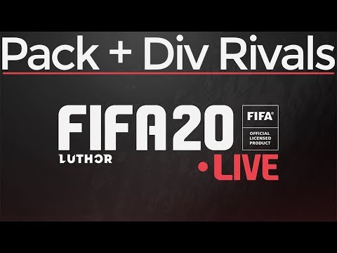 FIFA 20: Pack opening + Division rivals
