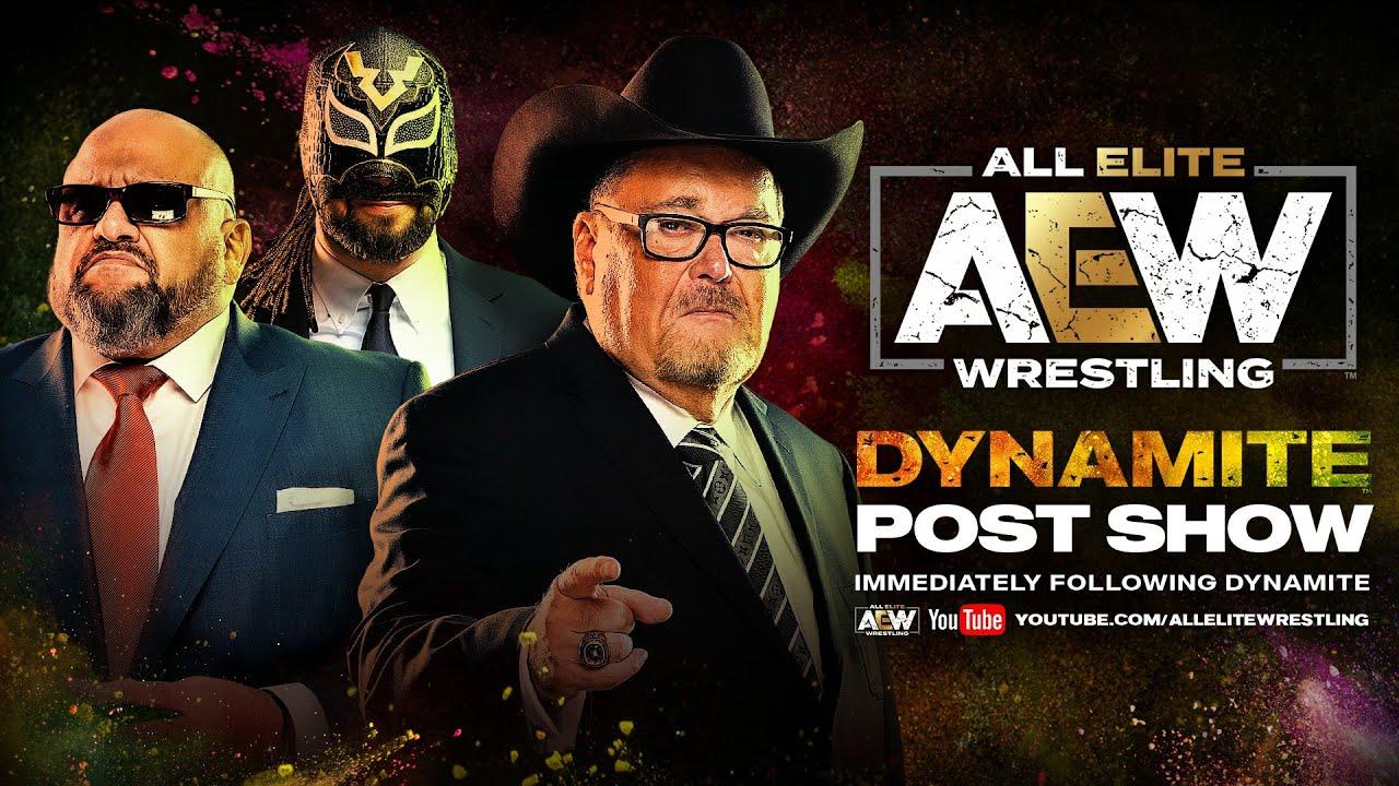 AEW DYNAMITE Post Show w/ JR, Excalibur & Taz | April 1, 2020
