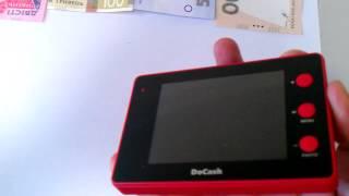 видео Купить детектор банкнот DoCash Micro IR (red) в Спб: низкая цена