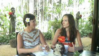 Разговор за чашкой чая с Розалией Кобылянской в компании ежика