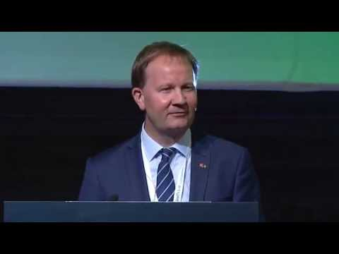Norwegian Shipowners' Association's Lars Peder Solstad at the 2015 Agenda Offshore conference