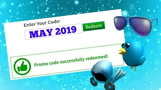ALL *MAY 2019* PROMOCODES IN ROBLOX!