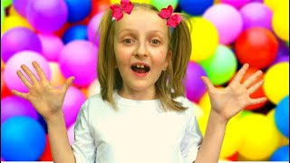 Learn color with balloons by Tawaki kids