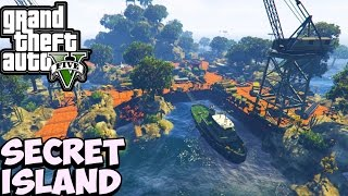 GTA 5 SECRET LOCATION FOUND ON GTA 5 ONLINE - GTA V Secret & Hidden Locations (GTA 5 Mod Gameplay)