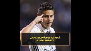 La sugerente respuesta de James Rodríguez sobre su posible retorno al Real Madrid