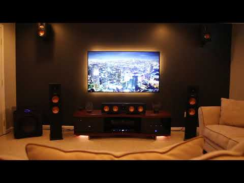 5.1.4 Klipsch Dolby Atmos System With Ready Player One Race DEMO