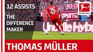Thomas Müller - The Difference Maker & Bundesliga Assist King
