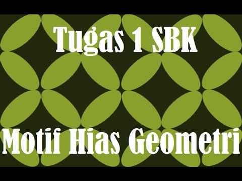 Tugas 1 Sbk Motif Hias Geometri Kelas V B Sd Inpres Batua I