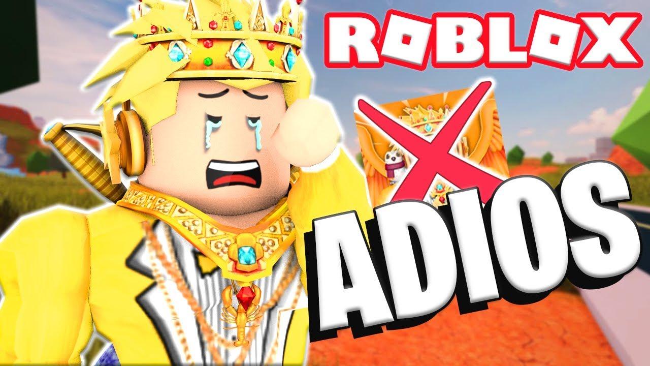 Rodny Roblox Se Va De Youtube Youtube