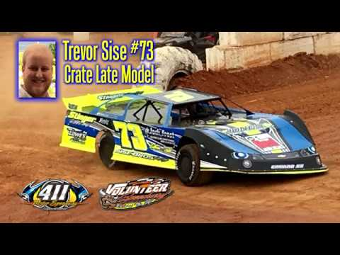 Trevor Sise #73 Crate Late Model @ Volunteer Speedway April 28, 2018