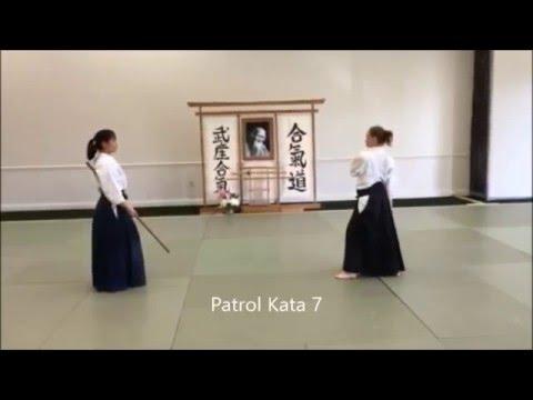 Patrol Kata with Melissa Bell Sensei