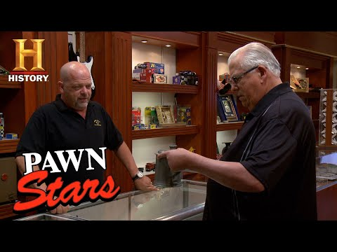 Pawn Stars: Rick Is Skeptical Of Pre-Revolutionary Pewter Tankard (Season 13) | History