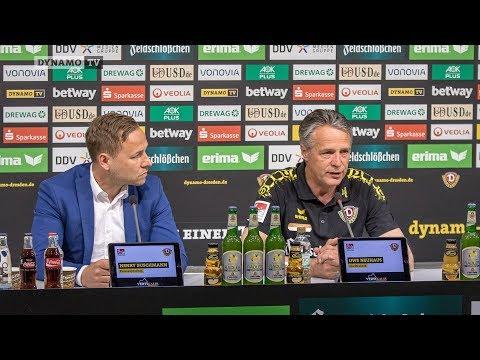 32. Spieltag | SGD - F95 | Pressekonferenz vor dem Spiel