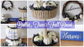 Dollar Tree DIY Fall Decor | Easy Fall Decor Ideas