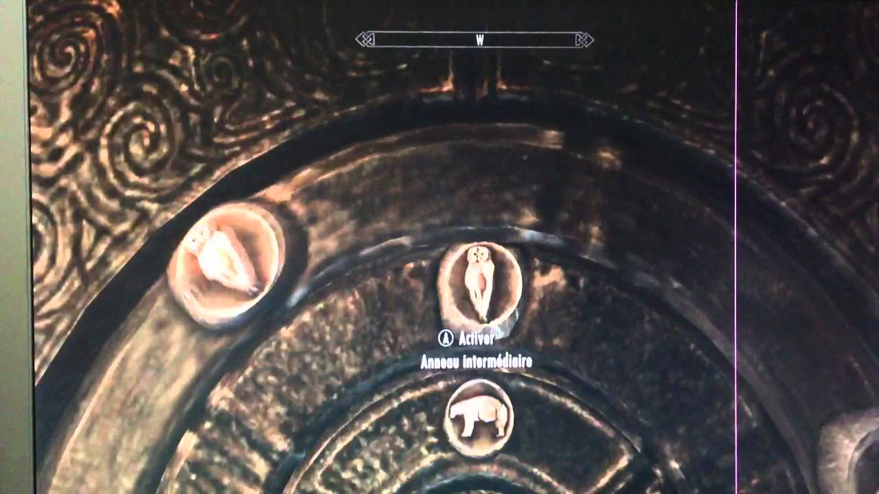 skyrim how to find the combination of claw doors
