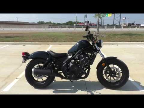 100150 2018 Honda Rebel Rebel 500 Used motorcycles for sale