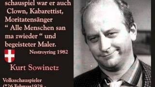 Kurt Sowinetz   Ana was hacklt is allweu de Blede