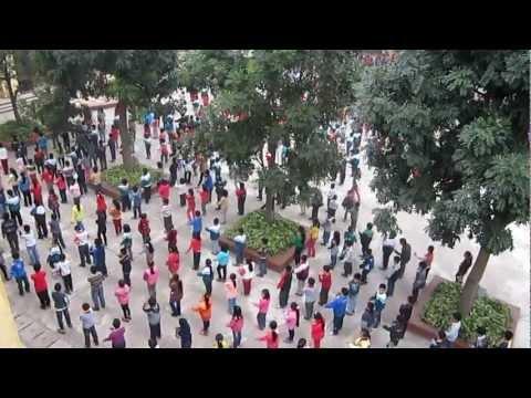 Tình bằng có cái trống cơm, dân vũ, Flashmod, Tiểu học Tiền Phong, Gia Lâm