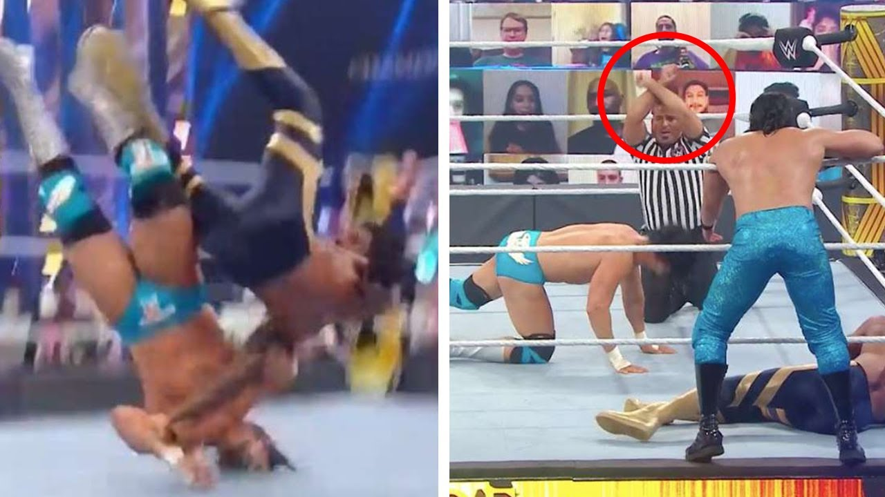 10 Times The Secret X-Sign Was Used In WWE For Real Medical Emergency