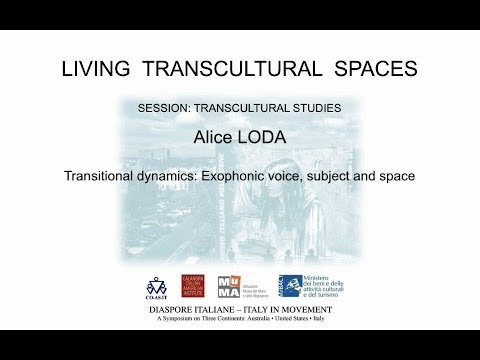 Transitional dynamics: Exophonic voice, subject and space