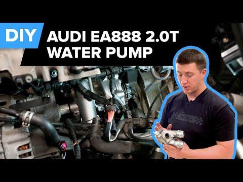 Audi Water Pump Replacement DIY (2008-2017 Audi MLB A4, S4, A5, S5, Q5)