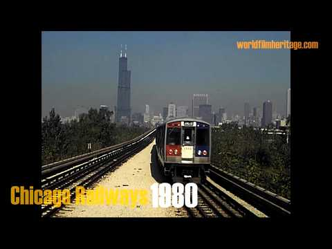 1980: Riding The Chicago L Train - Downtown Loop & More, Excellent Private Footage