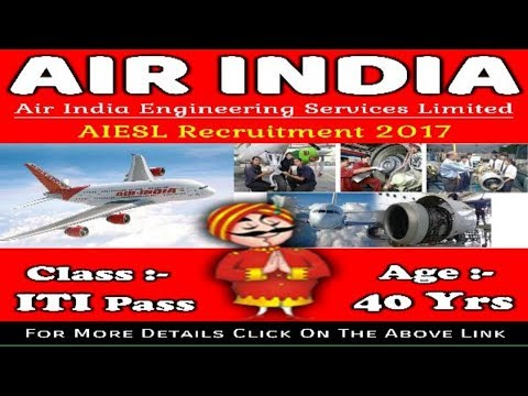 Air India Engineering Services Limited (AIESL) Recruitment   Latest Jobs in India Apply Now !!