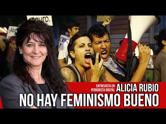 ☠ No hay feminismo bueno. ‼ Es misógino y tan dañino como el machismo.