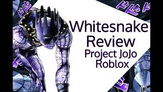 WhiteSnake Review | Project JoJo Roblox