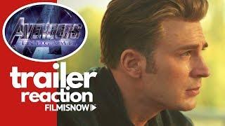 AVENGERS 4: ENDGAME Trailer | Reaction