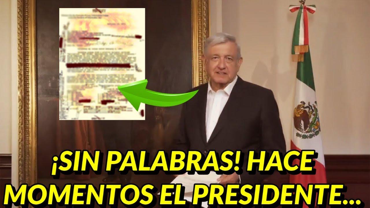 ¡SORPRENDIO AL PAIS! EN MINUTOS SE HIZO NOTICIA NACIONAL EL PRESIDENTE TOMA ESTA DECISION INESPERADO