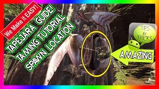 Tapejara HOW TO Tame & Location | Guide | Ark: Survival Evolved | Tips & Tricks | NEW DINOSAUR!