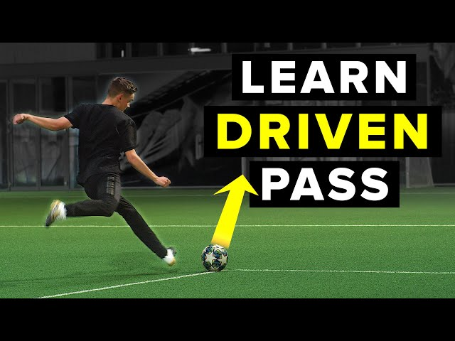 LEARN THE LOW DRIVEN PASS | Ping the ball with power