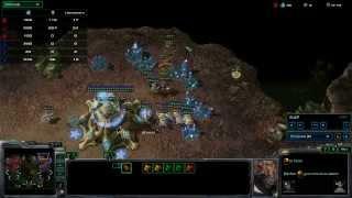 SeKo Starcraft - 3v3 Basement League - SC2 HOTS Amateur Replays