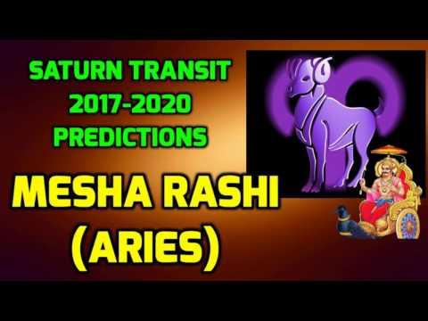 Mesha Rashi - Saturn Transit 2017-2020 Predictions | Shani Gochara Phala
