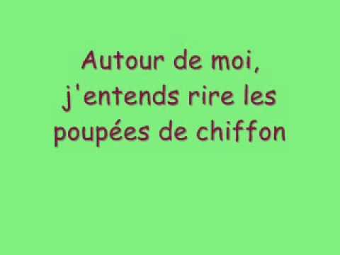 Poupée de cire poupée de son paroles ( France Gall )