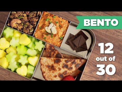 Bento Box Healthy Lunch 12/30 (Vegan) - Mind Over Munch