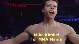 Mike Kimbel Interview Before Alex Potts at Bellator 207